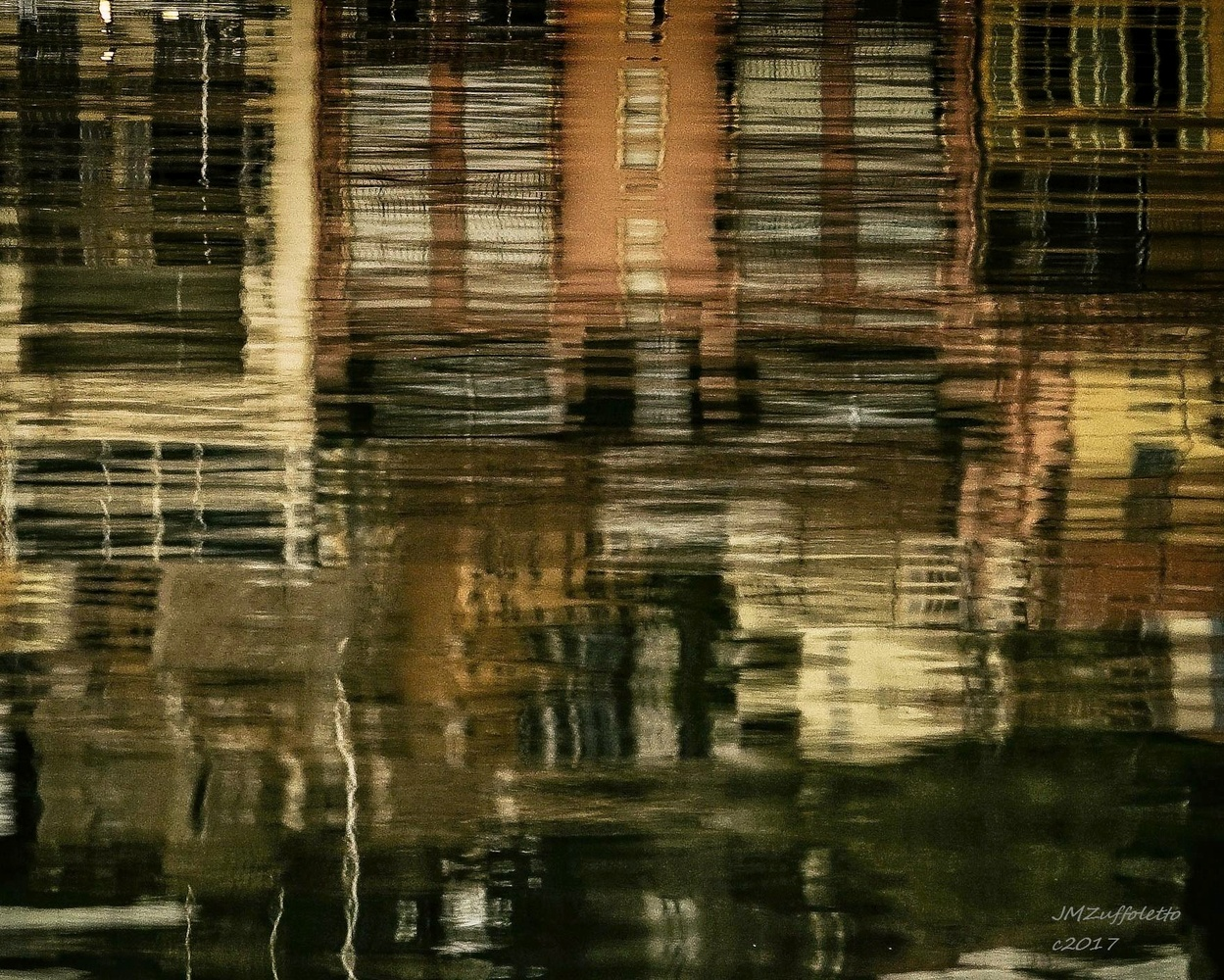 Water reflections by James Zuffoletto
