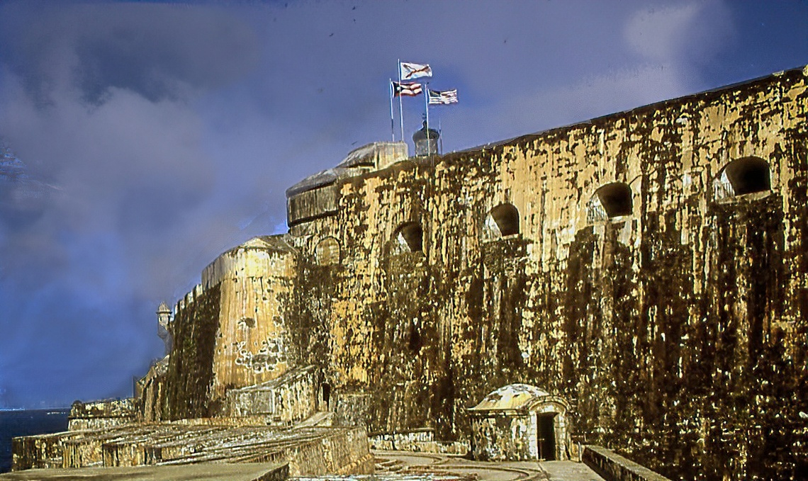 El Morrow Fort, San Juan, P.R. by James Zuffoletto