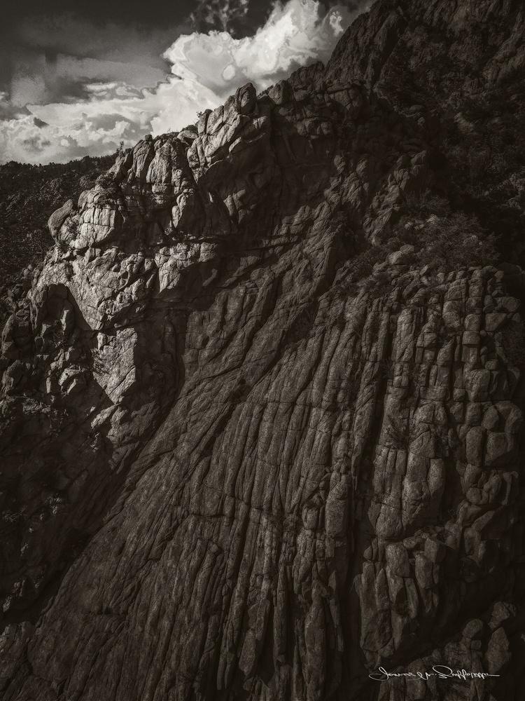 Sandia Peak Albuquerque by James Zuffoletto