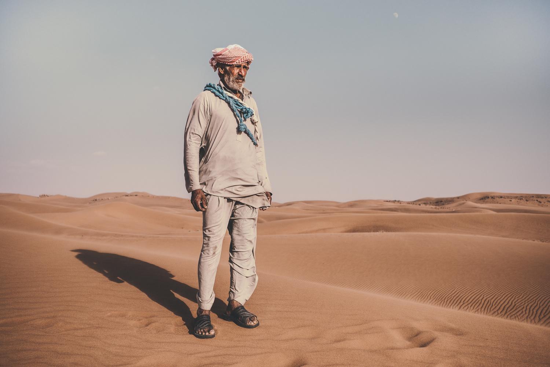 Azam of the desert by Paul Choy