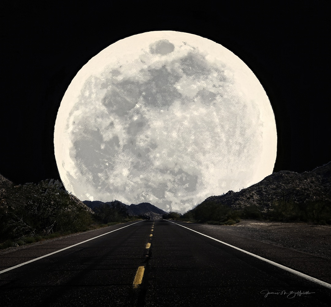 Moon Road by James Zuffoletto
