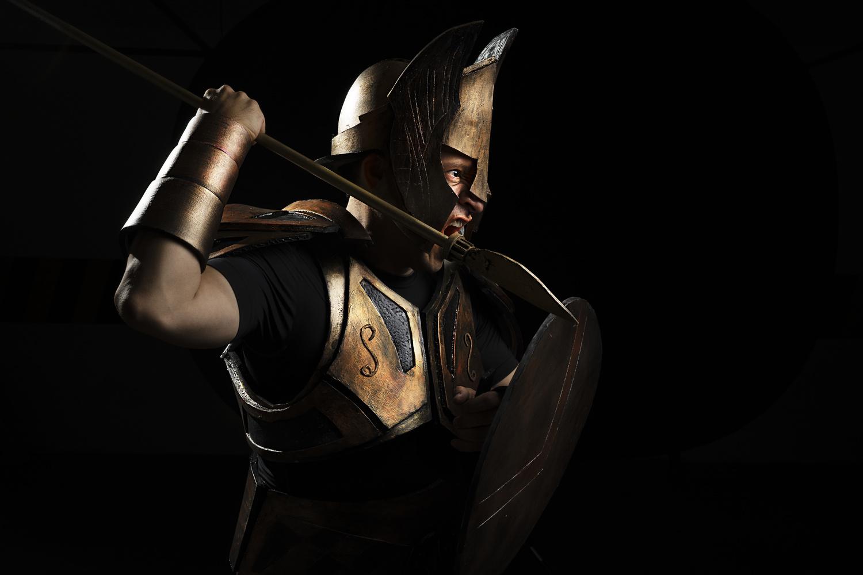 Epic Warrior by Raul Farfan