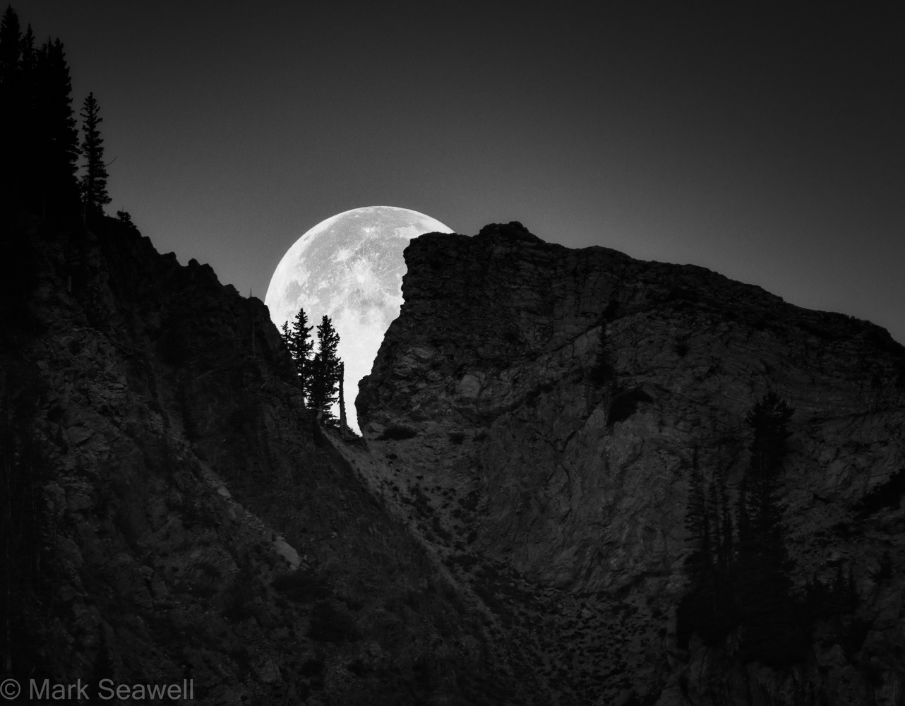 As the moon falls by Mark Seawell