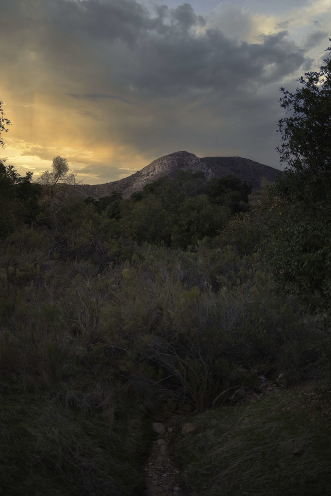 Mission Trails Sunset walk by Dillon Murphy