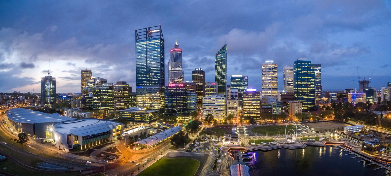 Perth Blue Hour by Chris Lucas