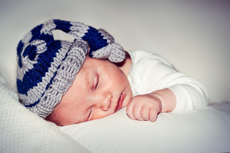 Newborn Baby Boy by Jarrett Caldwell