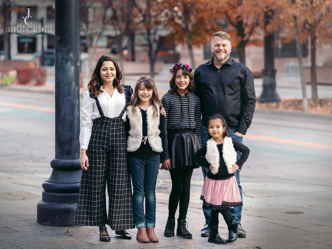 Downtown Salt Lake City Family by Jarrett Caldwell