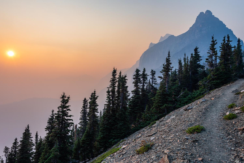 Trail to Sue Lake by Josh Sanders