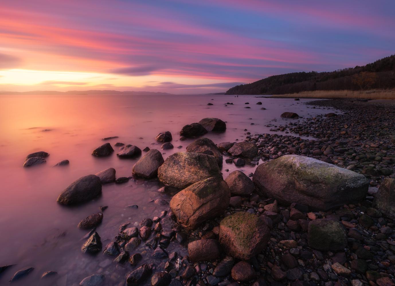 Refsnes beach by Mikkel Nordbæk