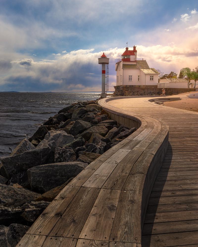 Filtvet lighthouse by Mikkel Nordbæk