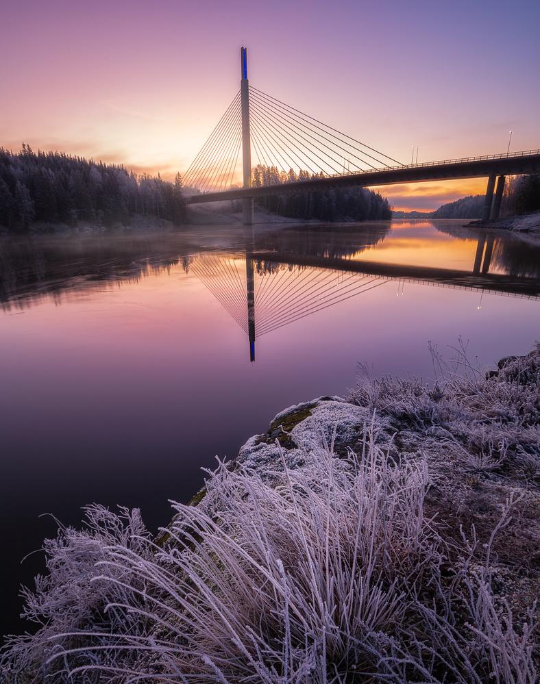 Smaalenene bridge by Mikkel Nordbæk
