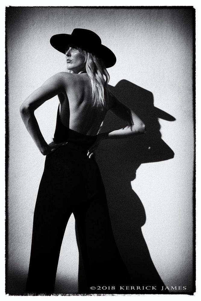 Sarah's shadow, Verrado, Arizona by Kerrick James