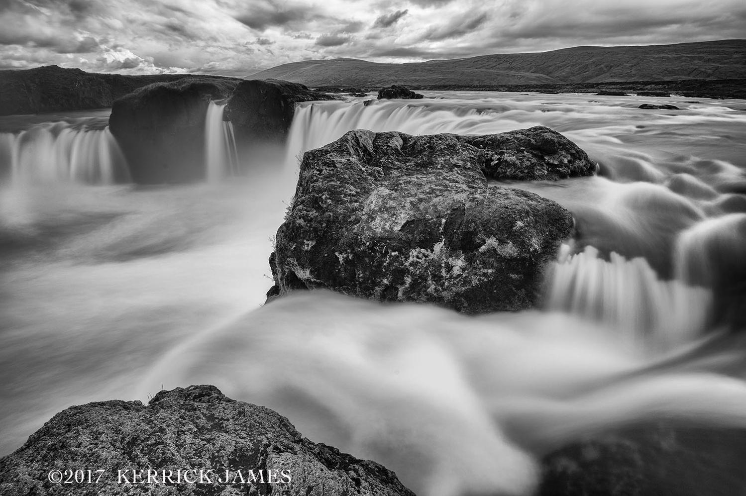 Godafoss waterfall, Iceland by Kerrick James