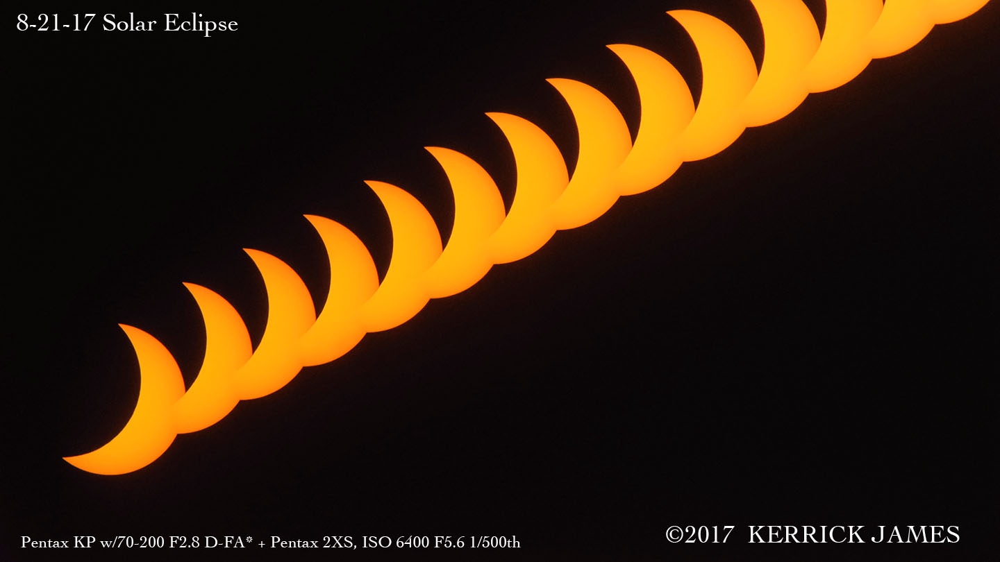 The solar eclipse of 8-21-17, from Mesa, Arizona by Kerrick James