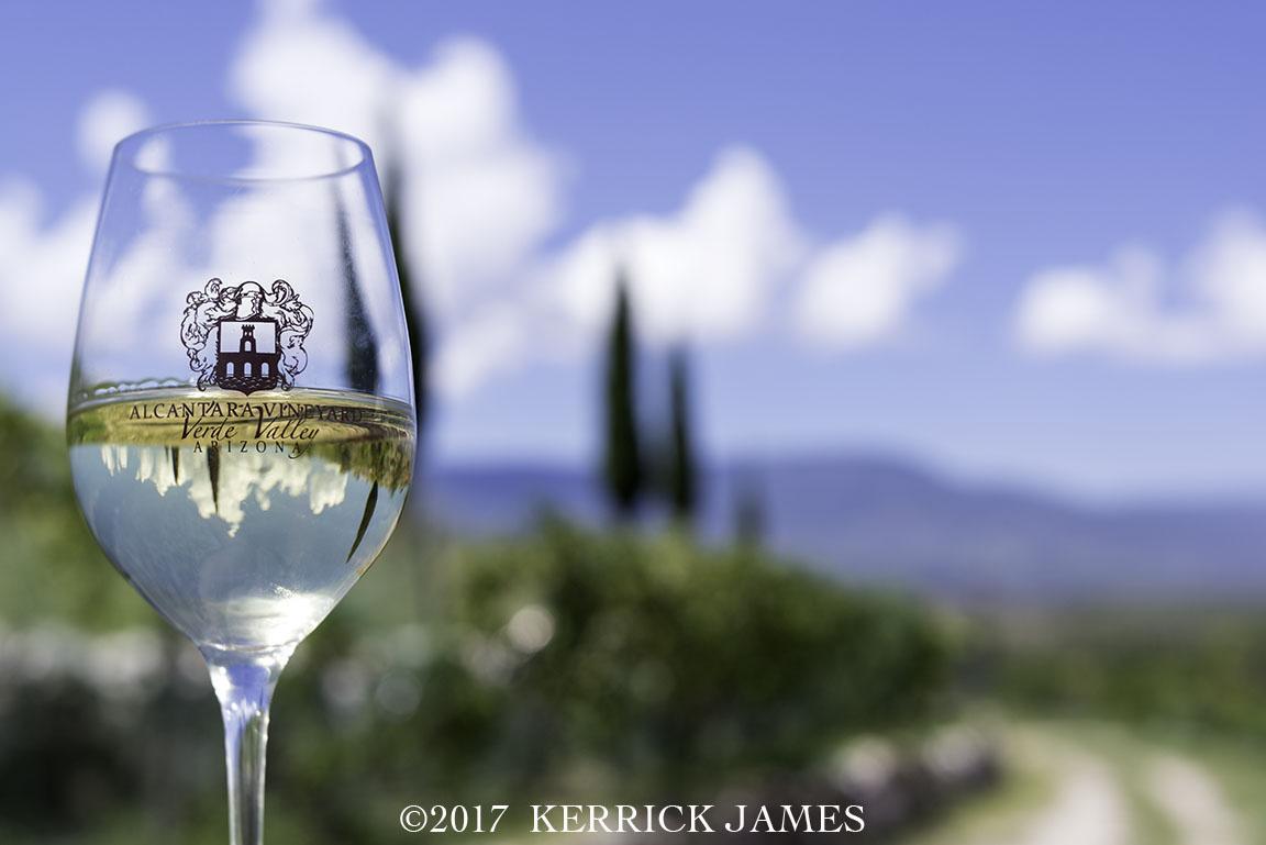 Alcantara Vineyards, Verde Valley Wine Trail, Cottonwood, Arizona by Kerrick James