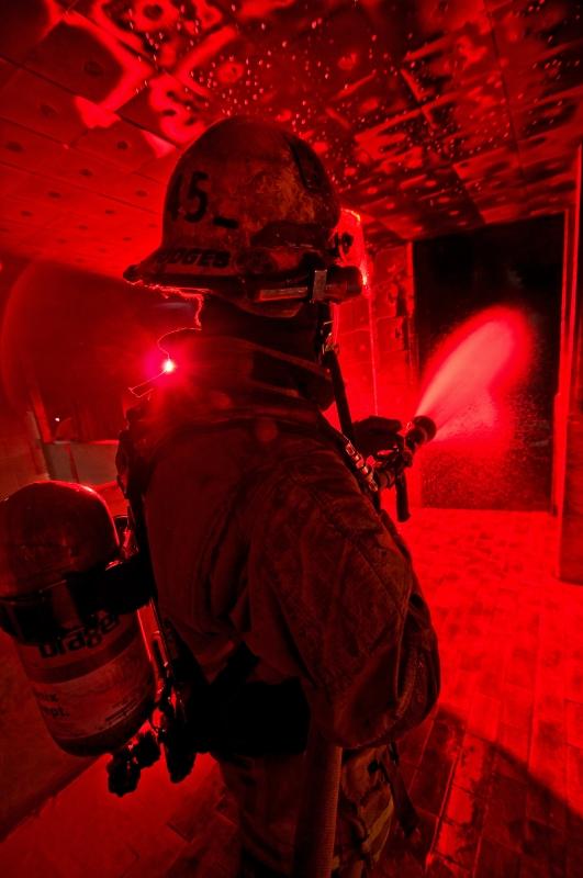 Firefighter by Matthew Strauss