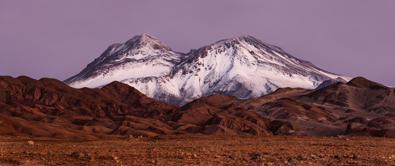 Cerro Tumisa, heure bleue. by Rémi Carbonaro