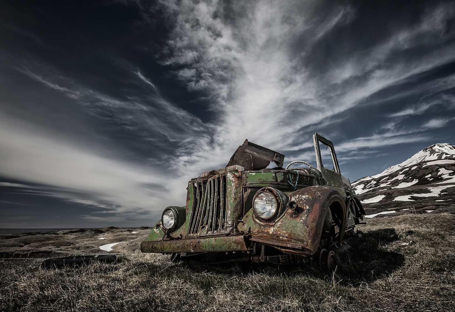 The Old Russian Jeep by Bragi Ingibergsson - BRIN