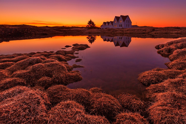 Purple Sunset by Bragi Ingibergsson - BRIN