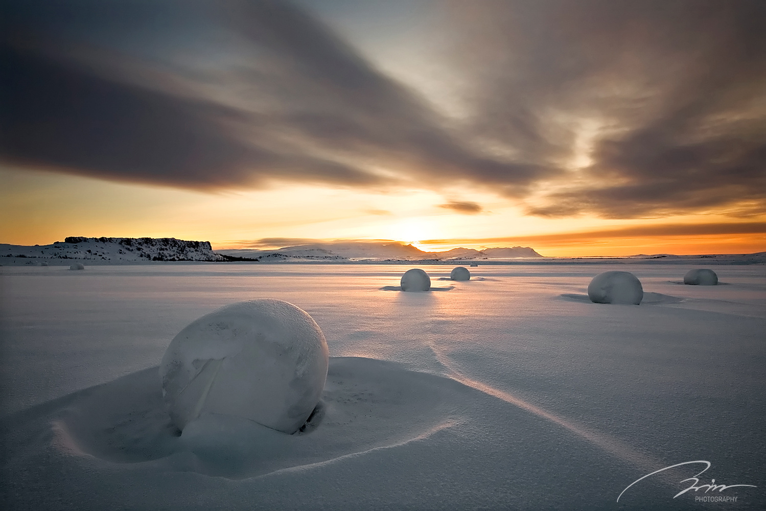 Snow Bales by Bragi Ingibergsson - BRIN