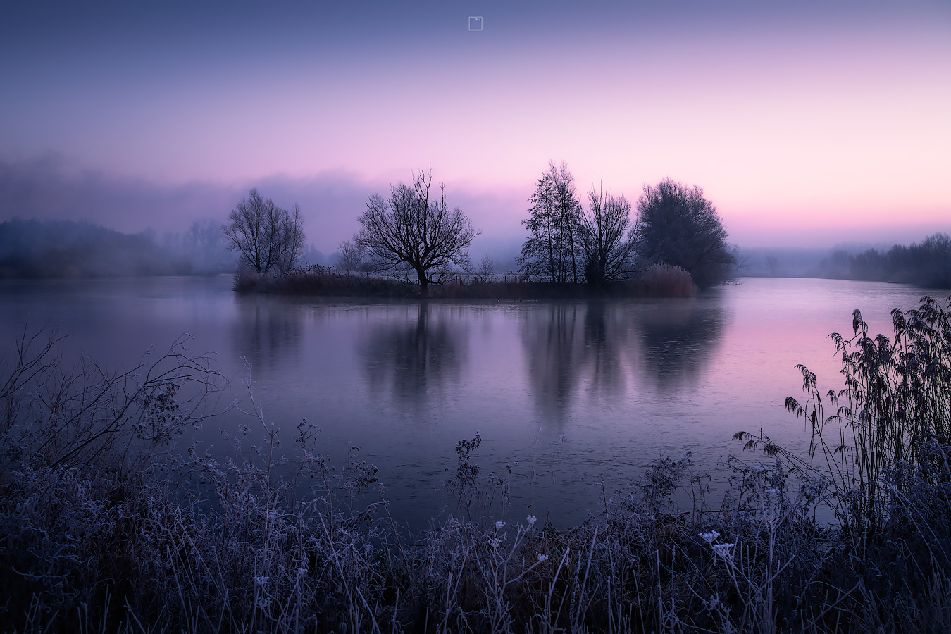 A winter morning in Belgium by Kevin Teerlynck