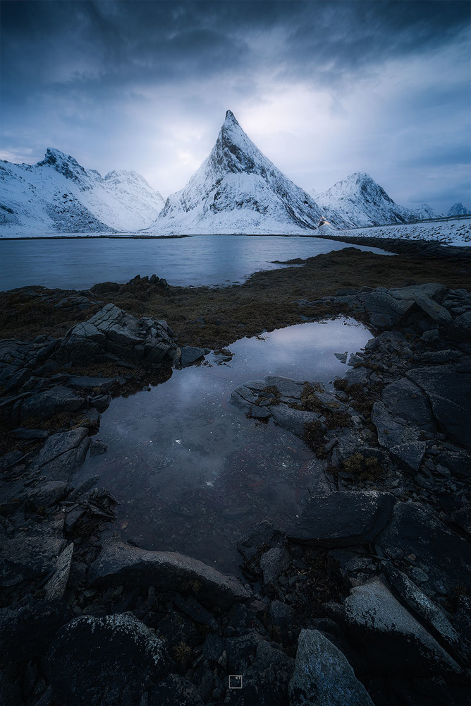 Moody blue hour in the north by Kevin Teerlynck