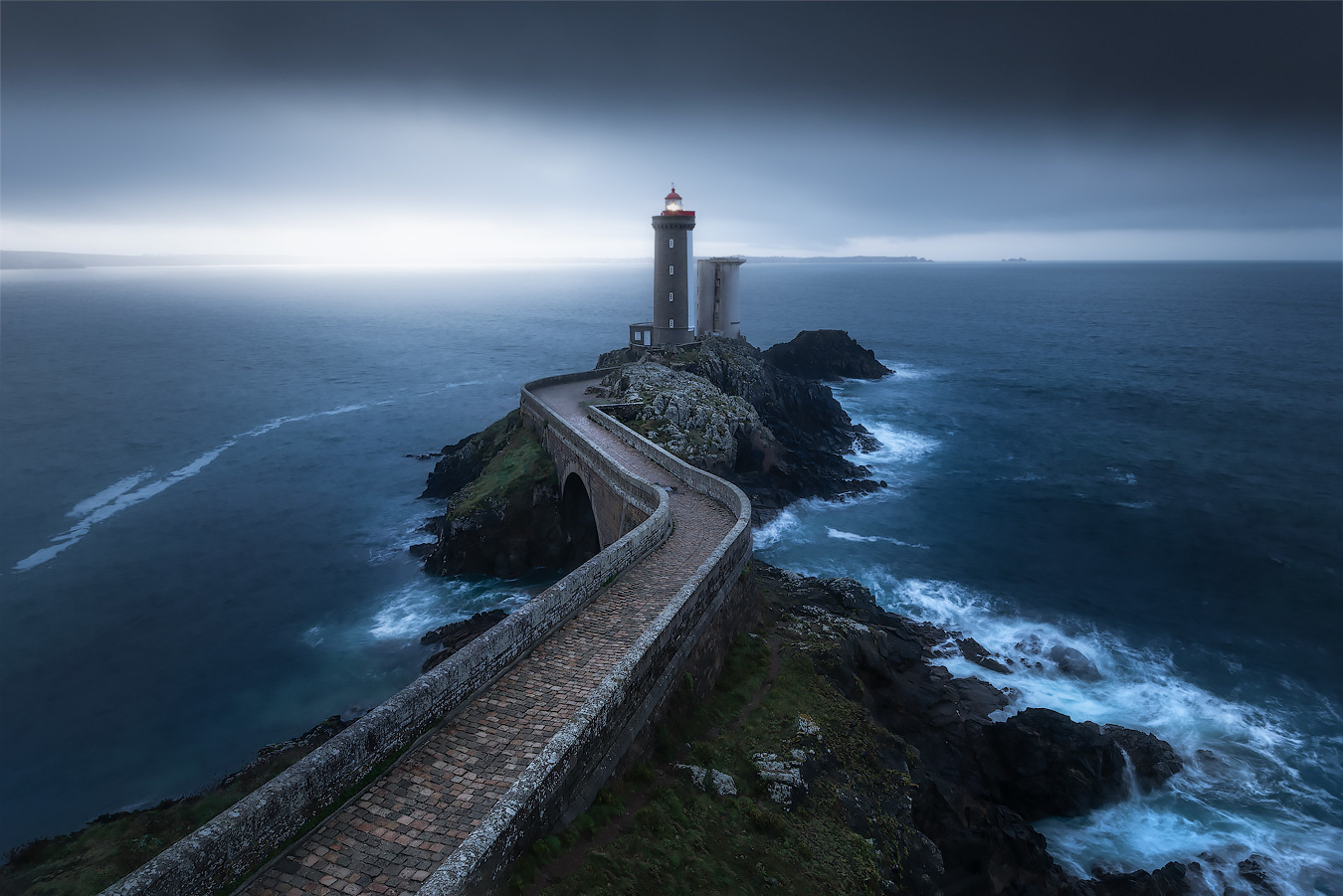 Morning blues in Brittany by Kevin Teerlynck