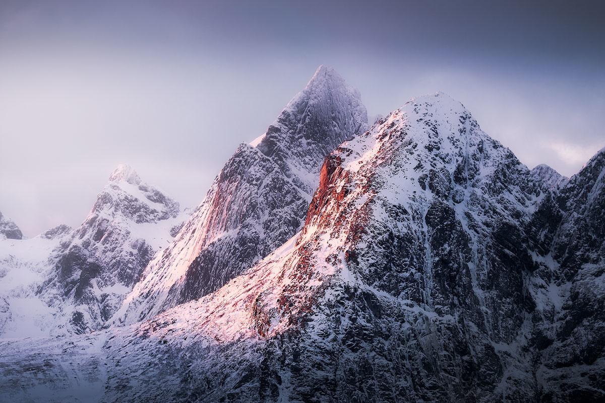 Peaks of Lofoten by Kevin Teerlynck