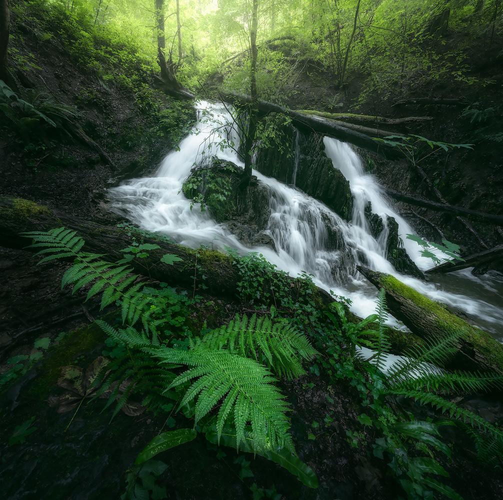 Chasing waterfalls by Kevin Teerlynck