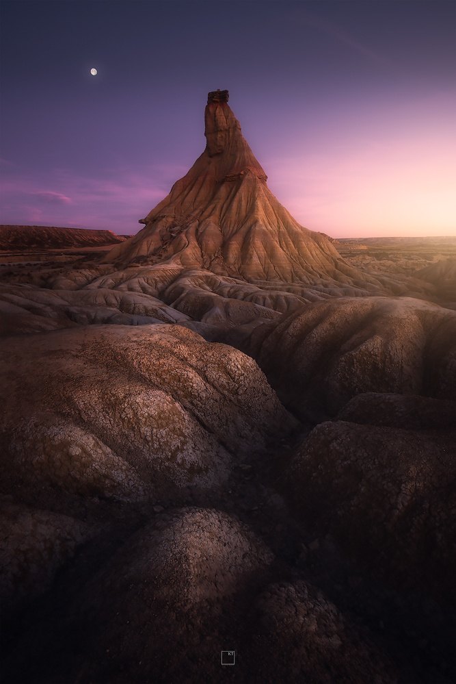 Desert twilight by Kevin Teerlynck
