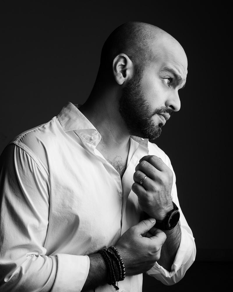 self portrait by Wadih Anton