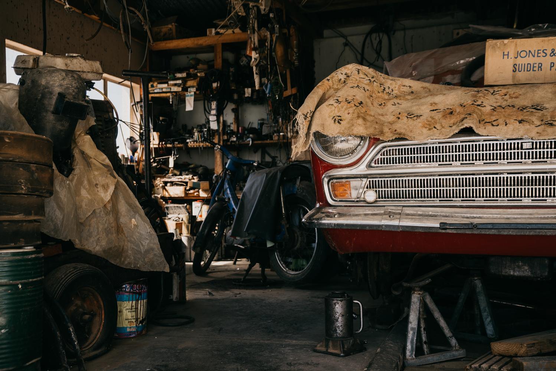 Garage Treasures by Ryan Hill