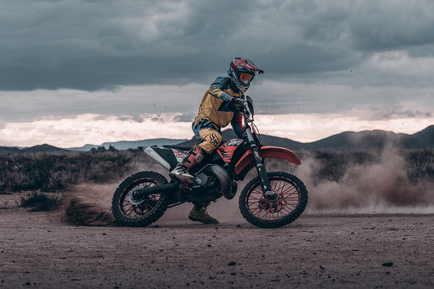 Picking up dirt in the Karoo by Ryan Hill