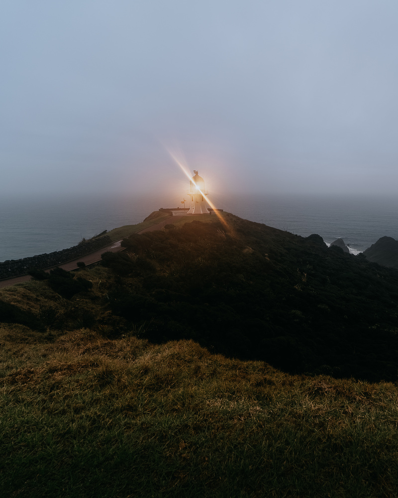 Cape Reinga Lighthouse by Ryan Hill