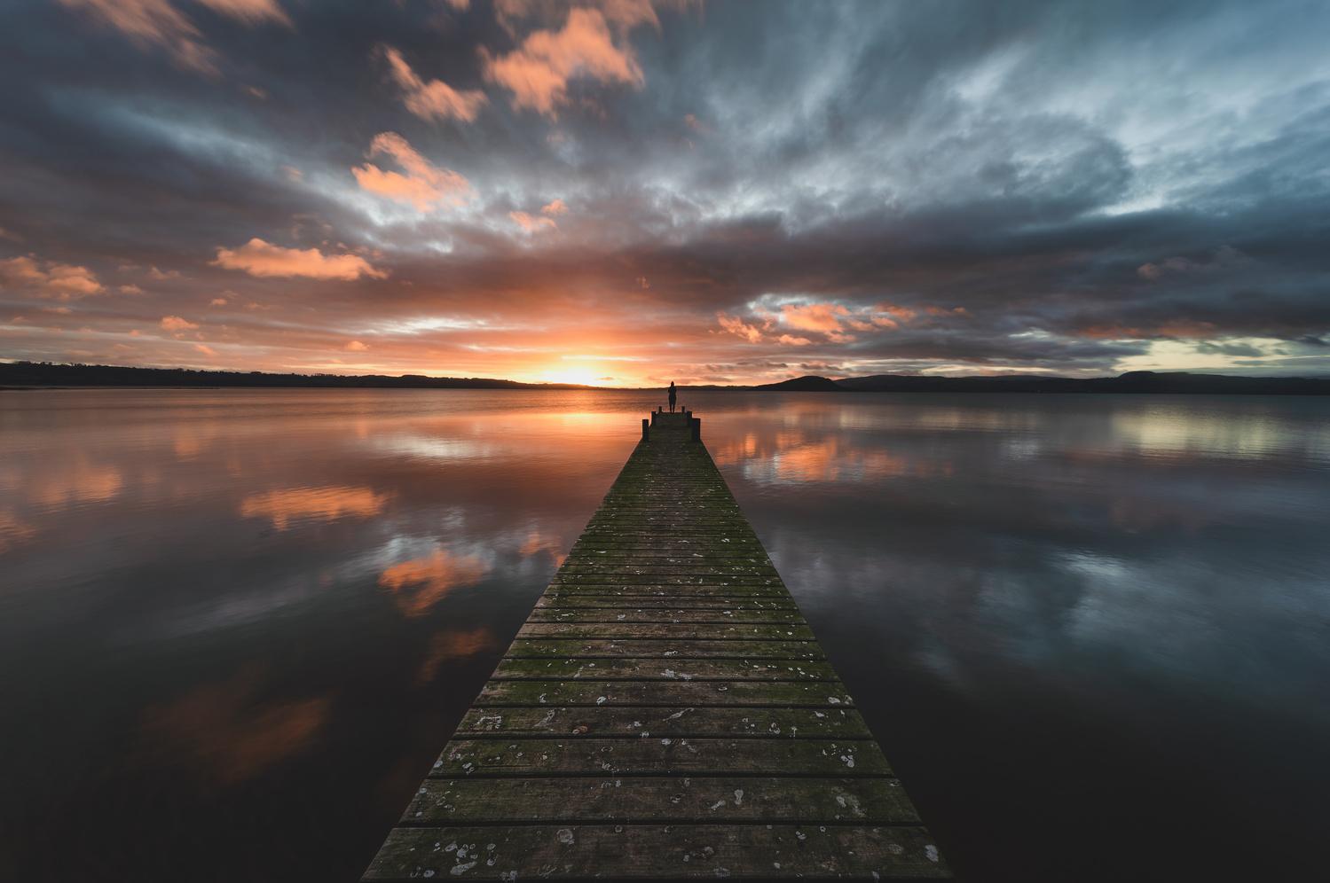 Sunrise Jetty by Ryan Hill