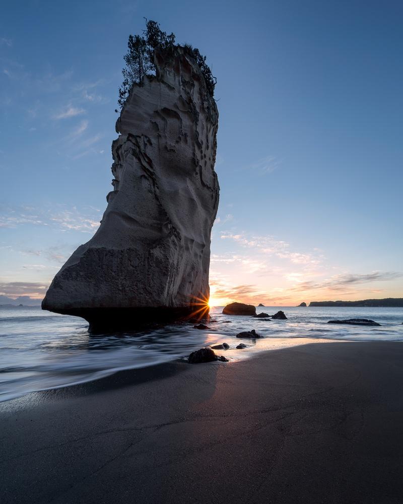 Sunrise at Te Hoho Rock by Ryan Hill