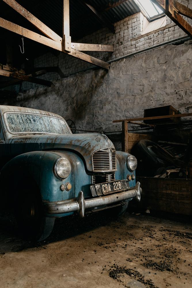 Historic motor by Ryan Hill