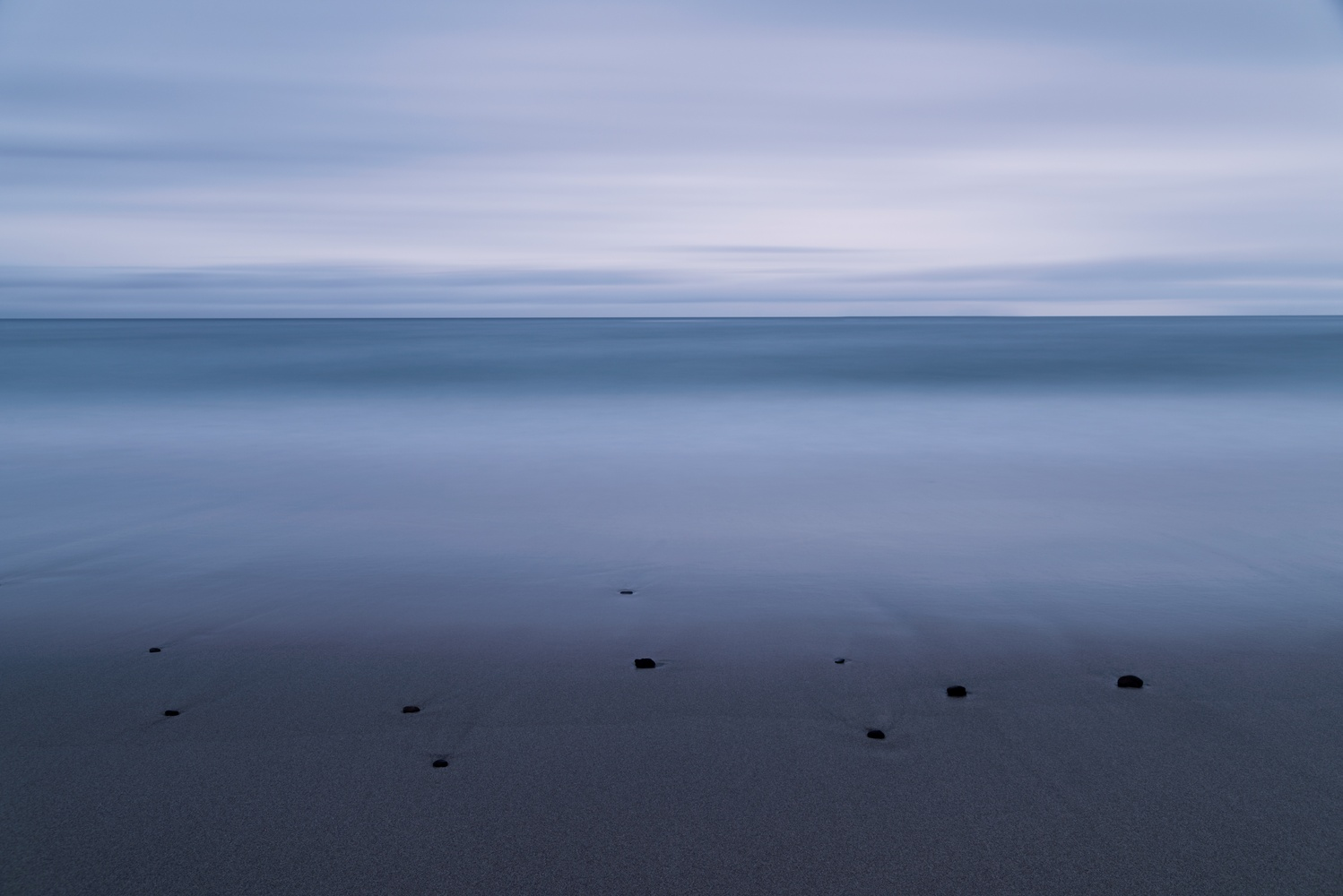 Different shades of blue by Ryan Hill