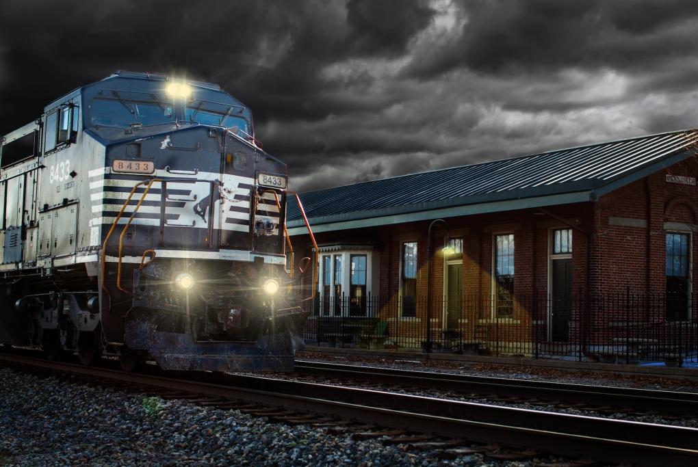 Rail Storm by Jacob Crews