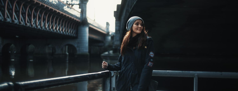 under the bridge by Urban Bradesko