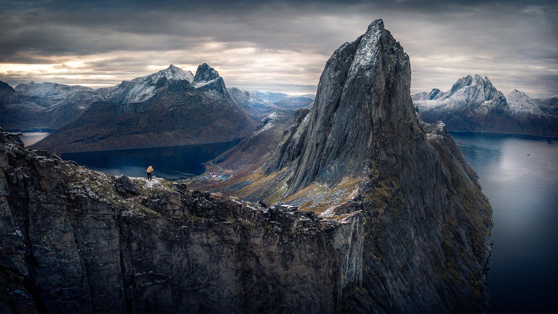 Panorama Mt. Segla by Michael Hultqvist