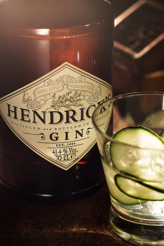 Hendrick's Gin by Alen Kirn