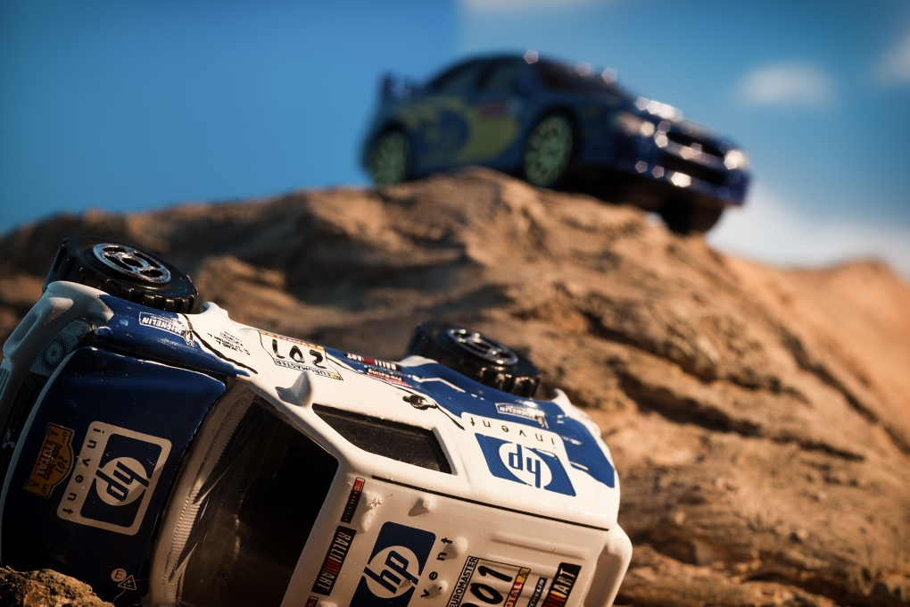 Toy Cars Racing by Alen Kirn