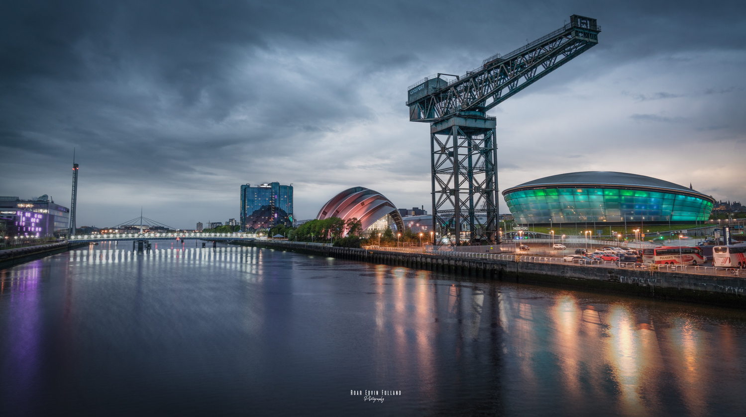 Glascow view ! by Roar Edvin Folland