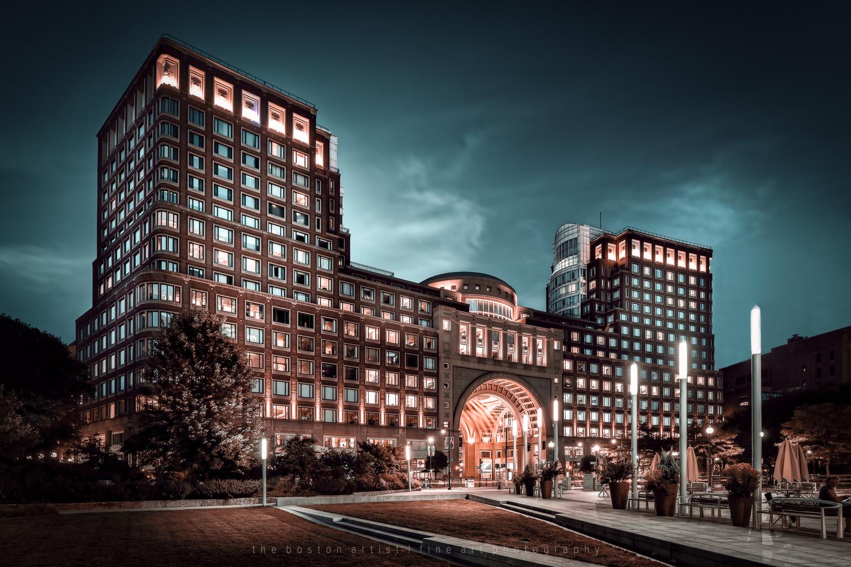 Boston Harbor Hotel by Thomas Logan