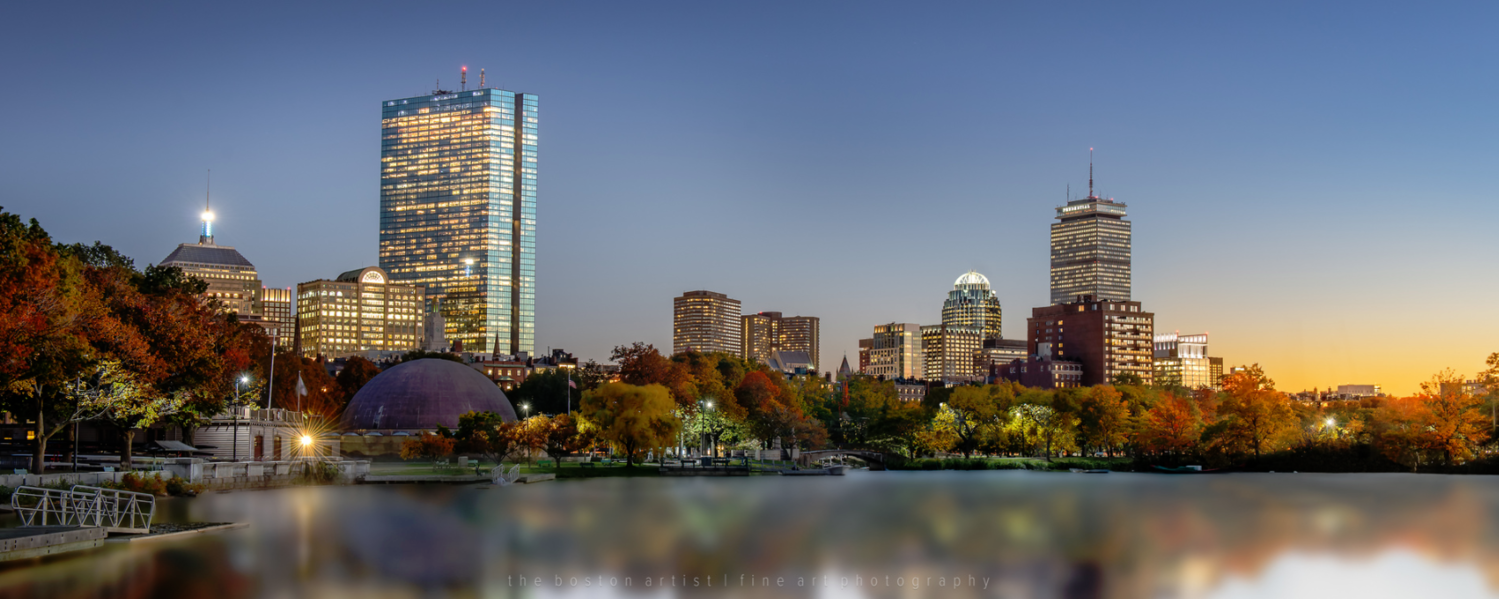 Charles River, Boston by Thomas Logan