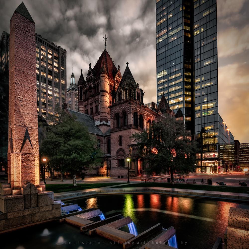 Trinity Church, Boston by Thomas Logan
