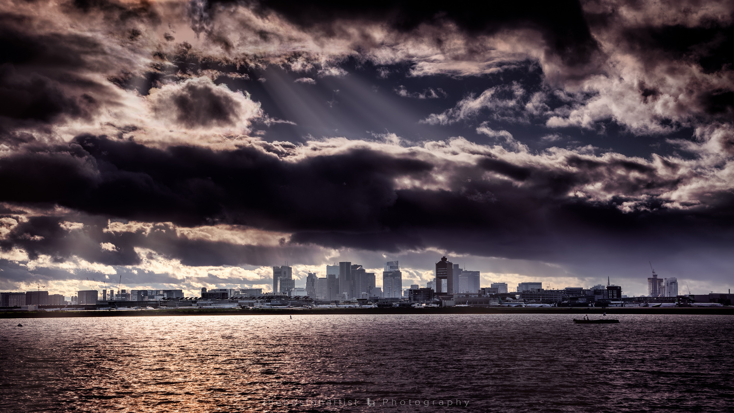 Boston Sky by Thomas Logan