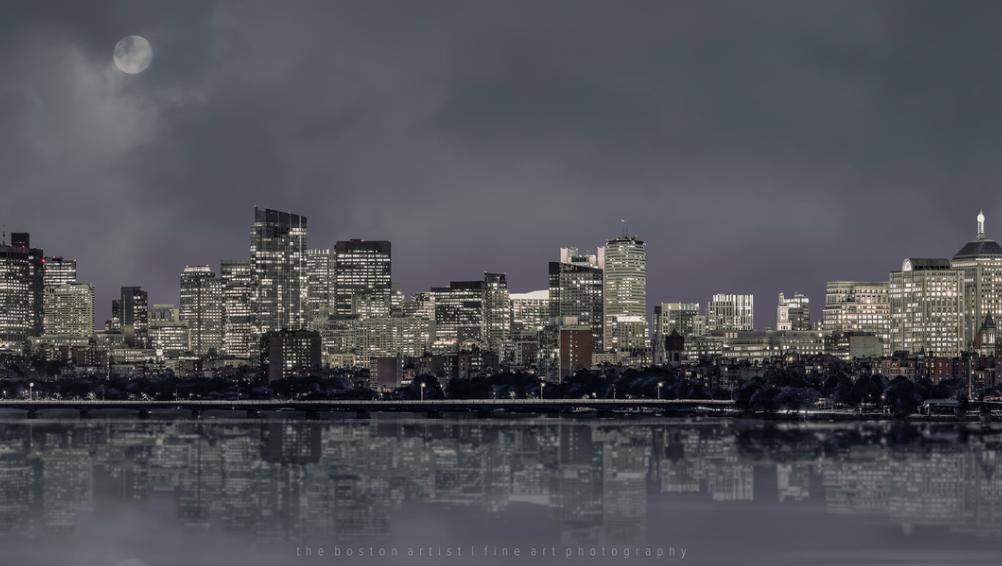 Boston Cityscape by Thomas Logan