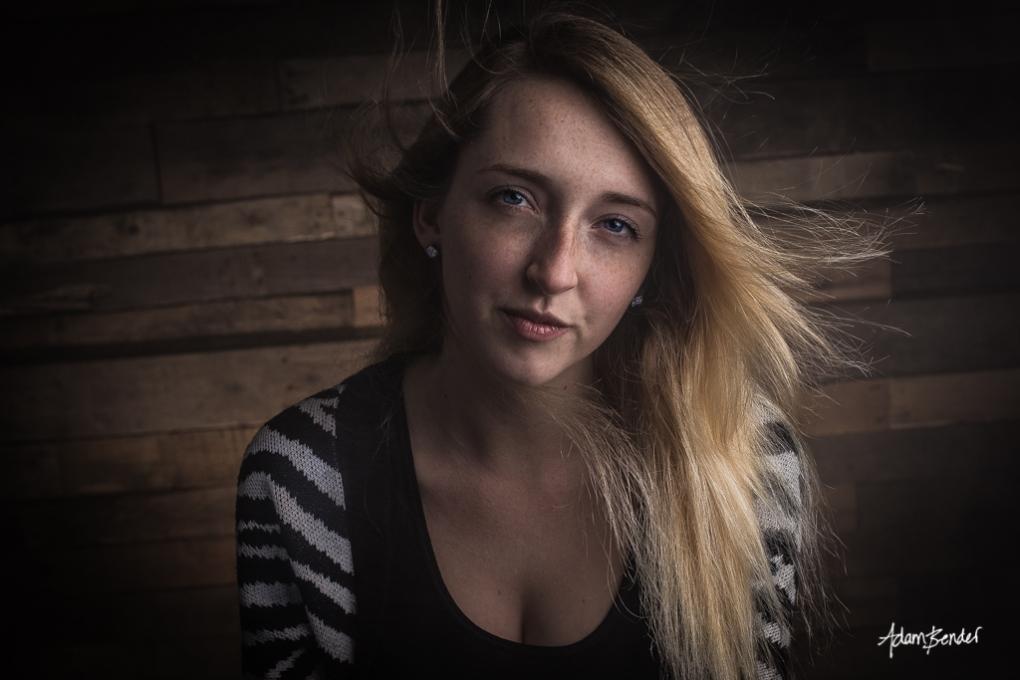 Natasha in The Cabin by Adam Bender